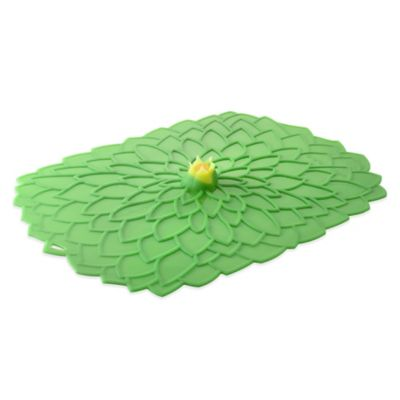 Charles Viancin® Dahlia™ Oblong Silicone Cover in Green