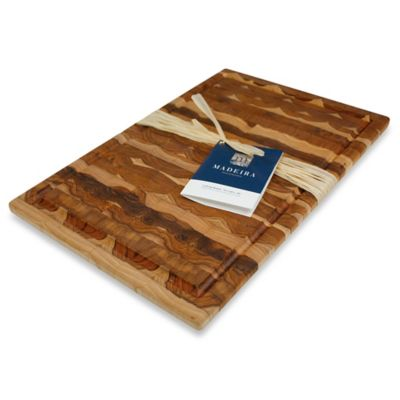 Madeira Housewares 11.5-Inch x 17.25-Inch Large Carving Board in End Grain