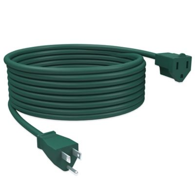 20-Foot Outdoor Extension Power Cord