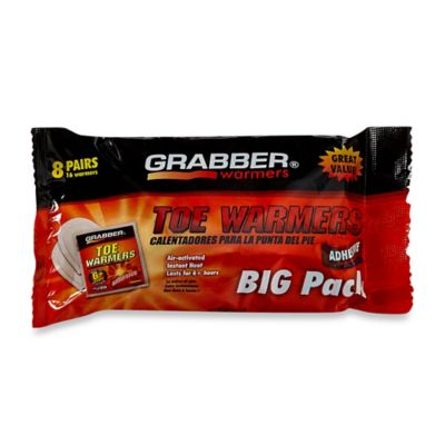 Grabber 8-Pack Toe Warmers