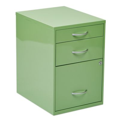 Office Star® Products 22-Inch Pencil/Box/Storage File Cabinet in Pastel Green