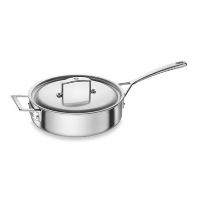 ZWILLING® Aurora 3-Quart Covered Sauté Pan with Helper Handle