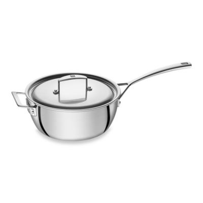 ZWILLING® Aurora 3.5-Quart Covered Saucier Pan with Helper Handle