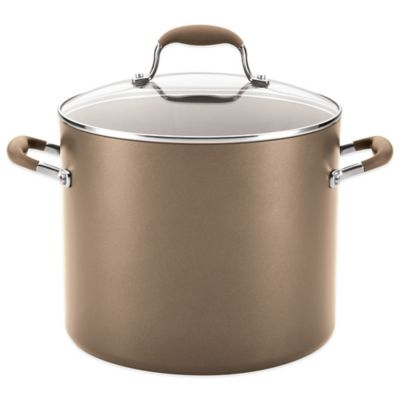 Anolon® Advanced Umber 12 qt. Covered Stockpot