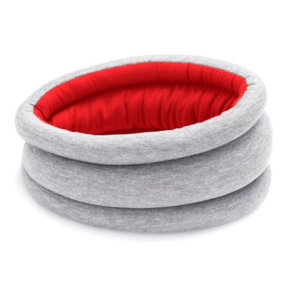 Ostrich Pillow Ultimate Travel Pillow Light in Red