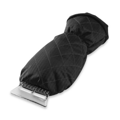 Ice Scraper Mitt in Black