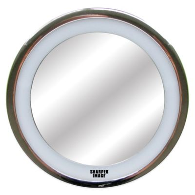 Sharper Image® LED Anti-Fog Shower Mirror in Chrome Finish