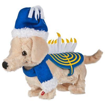 Dancing Hanukkah Puppy Decoration