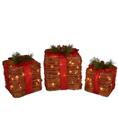 Grapevine Boxes (Set of 3)