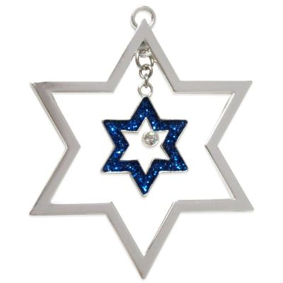 Harvey Lewis™ Star of David Keepsake Ornament Made with Swarovski® Elements