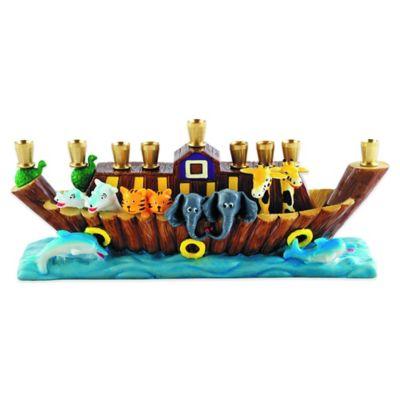 Noah's Ark Children's Menorah