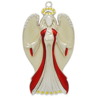 Harvey Lewis™ Angel with Halo Ornament Made with Swarovski® Elements