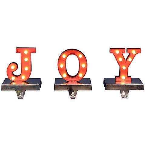Joy Stocking Hanger 26