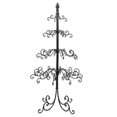 4-Tier Metal Wire Ornament Tree