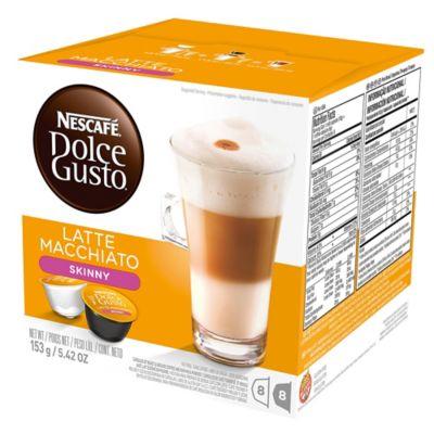 Nescafé® 16-Count Dulce Gusto® Skinny Latte Macchiato Capsules