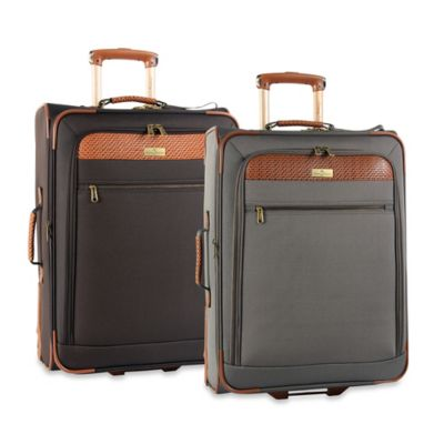 Tommy Bahama Retreat II 25-Inch Expandable Suitcase in Brownstone