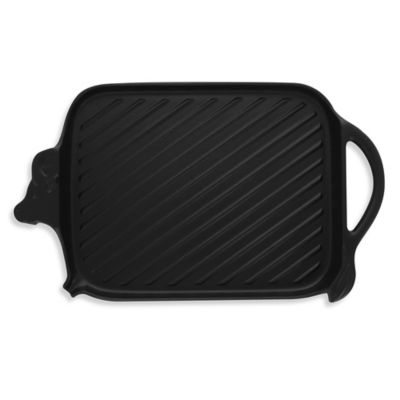 Chasseur® Cast Iron Cow-Shaped Grill in Black