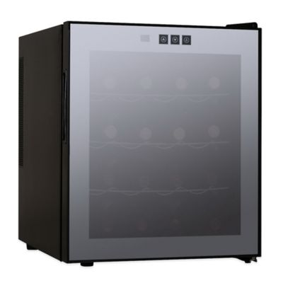 Kingsbottle 16-Bottle Thermoelectric Wine Cooler in Black