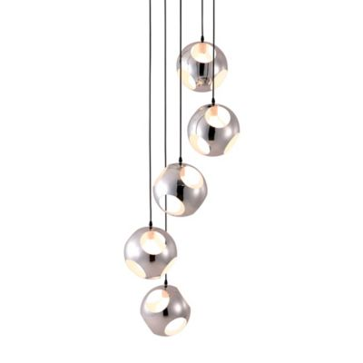 Zuo® Pure 5-Light Ceiling Mount Meteor Shower Pendant