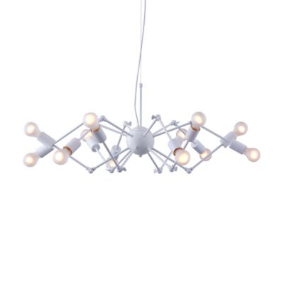 Zuo® Pure Sleet 12-Light Ceiling Lamp