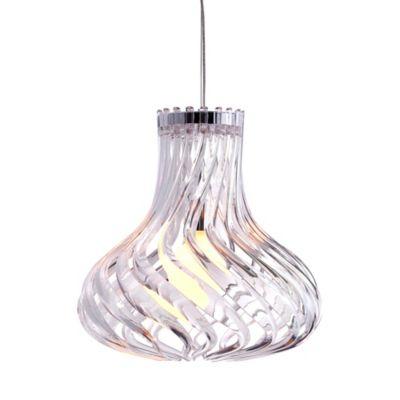 Zuo® Pure Tsunami Ceiling Lamp in Clear