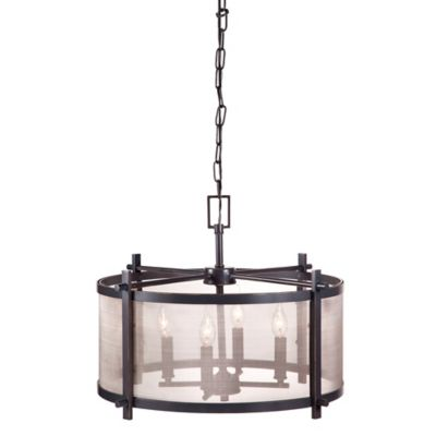 Drum Shade Ceiling Light