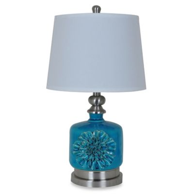 Crestview Collection Flowertique Table Lamp