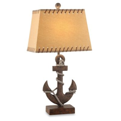 Crestview Collection Anchor Table Lamp