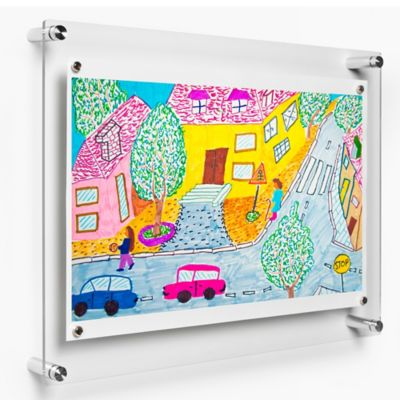 Wexel Art 14-Inch x 19-Inch Rectango Floating Frame with Magnets