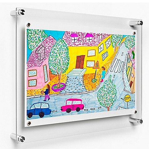 Buy Wexel Art 14 Inch X 19 Inch Rectango Floating Frame