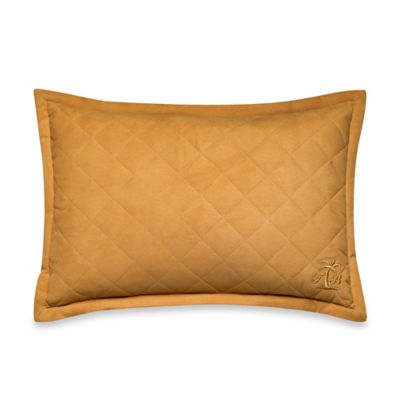 Tommy Bahama® Tropical Lily Breakfast Throw Pillow in Golden Yellow