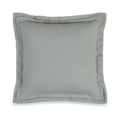 Wamsutta® Hamilton Square Throw Pillow in Grey