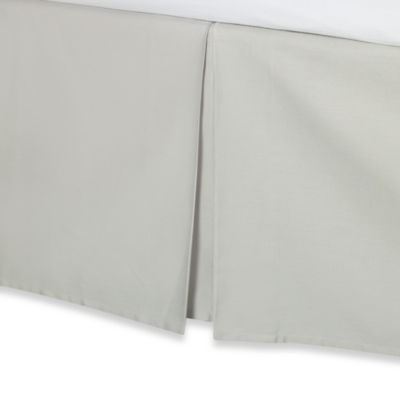 Wamsutta® Hamilton Bed Skirt in Grey
