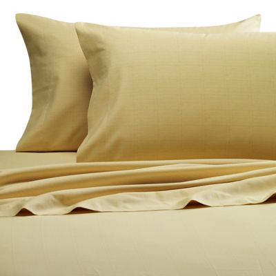 Tommy Bahama® Tropical Lily Queen Sheet Set in Golden Yellow