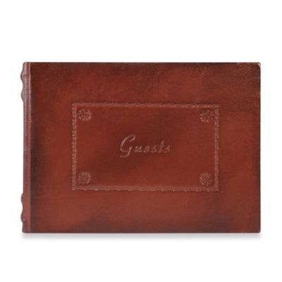 Eccolo™ Padua Guest Book in Brown