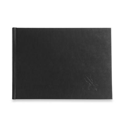 Eccolo™ Penna Guest Book in Black