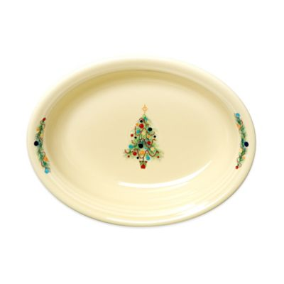 Fiesta® Christmas Tree Oval Vegetable Bowl