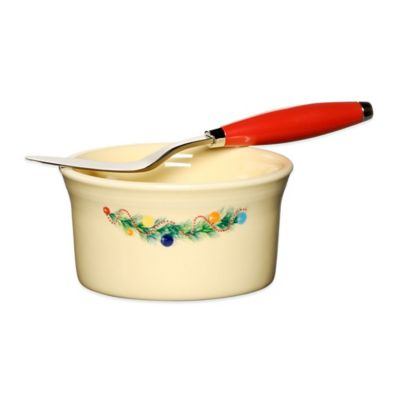 Fiesta® Christmas Tree 2-Piece Dip and Spreader Set