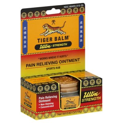 Tiger Balm® Ultra Strength 0.63 oz. Sports Rub Pain Relieving Ointment