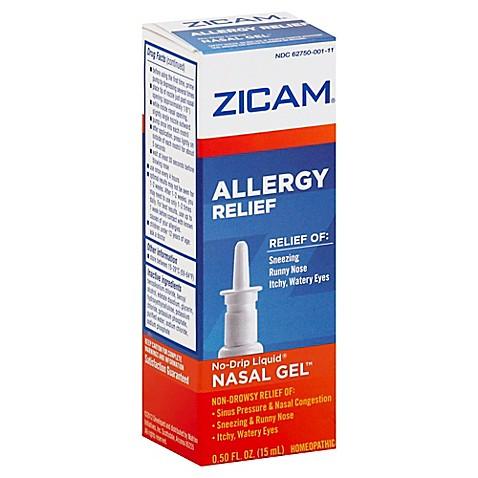Zicam Allergy Relief 5 Oz Nasal Gel Bed Bath Amp Beyond