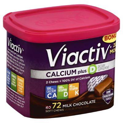 Viactiv Calcium 60-Count Soft Chews in Milk Chocolate