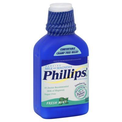 Phillips' Milk Of Magnesia 26 oz. Saline Laxative in Mint