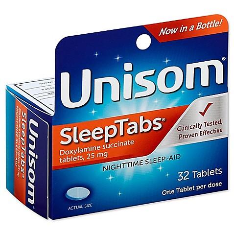 Buy Unisom 174 Sleeptabs 174 32 Count Nighttime Sleep Aid