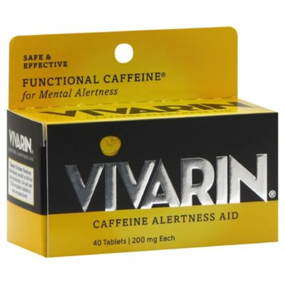 Vivarin® 40-Count Caffeine Alertness Aid Tablets