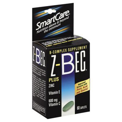 SmartCare® Z-Bec® 60-Count B-Complex Caplets