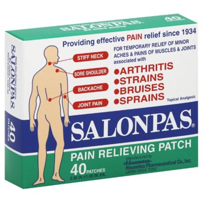 Salonpas® 40-Count Pain Relieving Patches