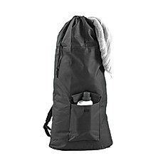 Backpack Laundry Bag in Black