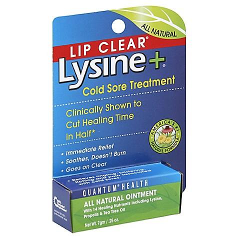 Lysine cream cold sore