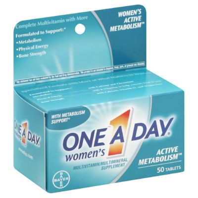 One A Day® Women's 50-Count Active Metabolism™ Tablets
