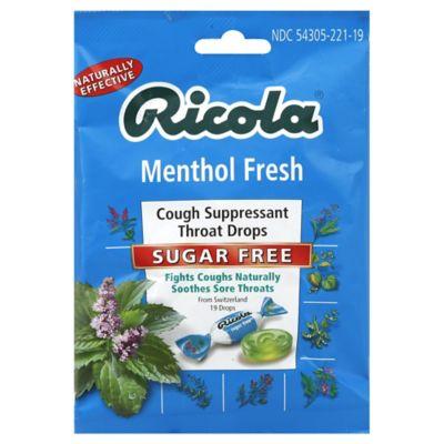 Ricola Sugar-Free 19-Count Throat Drops in Menthol Fresh